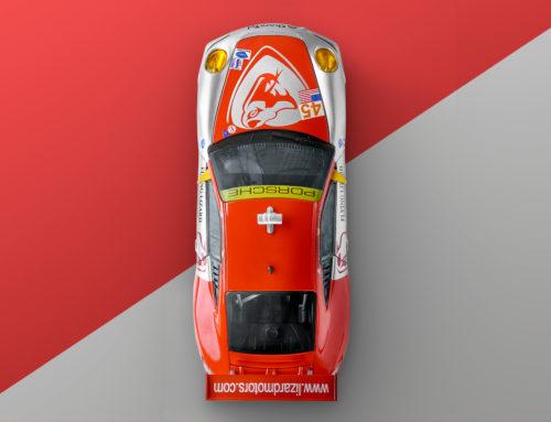 BBurago Porsche 911 GT3 RSR